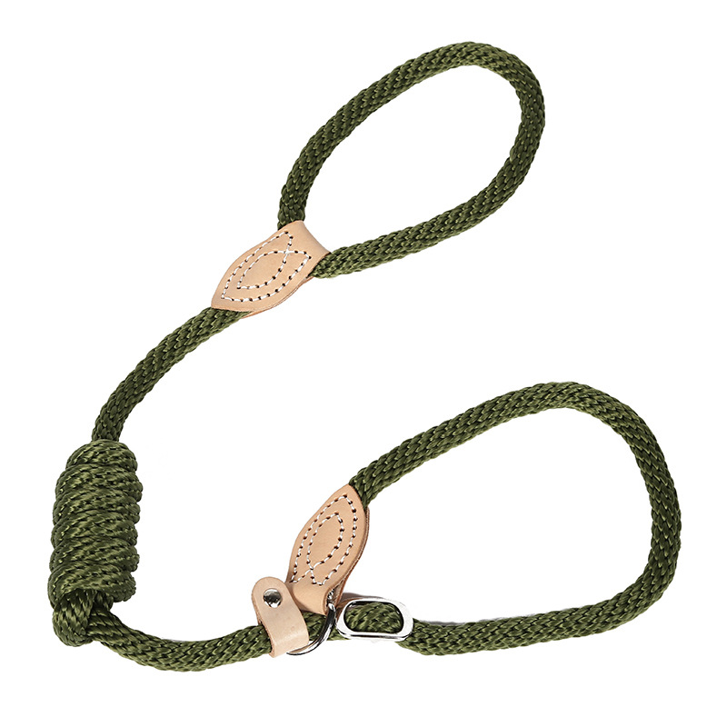 Pet Traction Rope Hemp Rope Leash-Tightening Dog Hand Holding Rope Cowhide Polypropylene Dog Rope