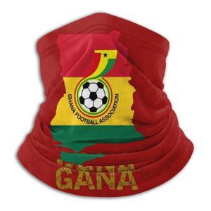 Carte Du Гана логотип черных звезд надпись в португальском (или) шарф бандана повязка на голову для улицы альпинизма обогреватель лица