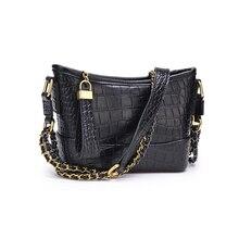 Saco de mão das senhoras da forma de luxo saco do mensageiro mini bolsa pequena bolsa de ombro retro do couro do plutônio das mulheres 2019
