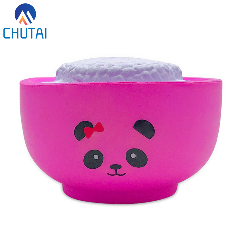 Jumbo Kawaii Simulated Food Rice Bear Squishy Bread PU Slow Rising Cream Scented Squeeze Toys Stress Relief Toy Gift 10*4.5 CM