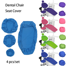 1set High Elastic Dental Chair Seat Cover Protective Case Set Protector Kit Dentist Material Dentistry Insturment