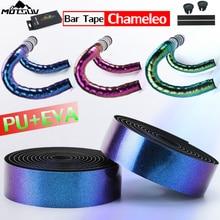 MOTSUV Chameleo Color Professional Cycling Road Bike bar Tape TOP Quality EVA PU Bicycle Handlebar Tape Soft Anti-Vibration Wrap