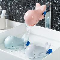2019 New Creative Water Faucet Chute Extender Spout Tap Child Cute Whale Hand Washing Guard Bathroom