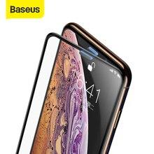 Baseus 3D מסך מגן עבור iPhone XR 0.3mm Ultra Thin מגן זכוכית עבור iPhone Xs X Xs מקסימום 7 8 מזג זכוכית מול סרט