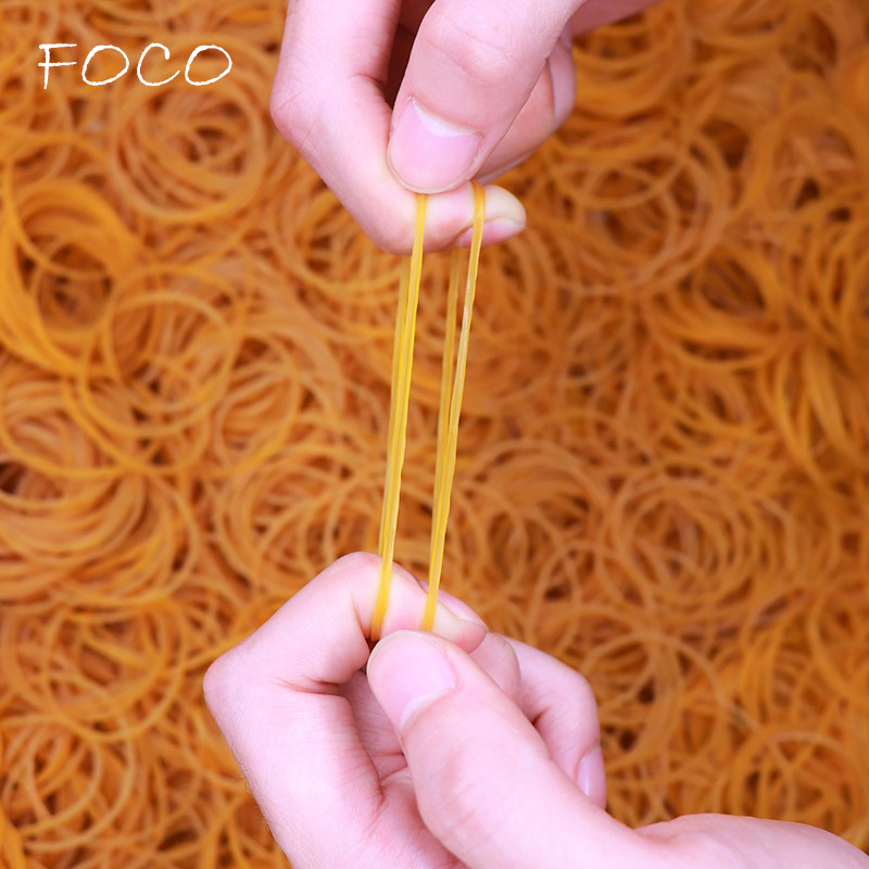 300PCS/bag High Quality Office Rubber Ring Rubber Bands Strong Elastic Stationery Holder Band Loop School Office Supplies