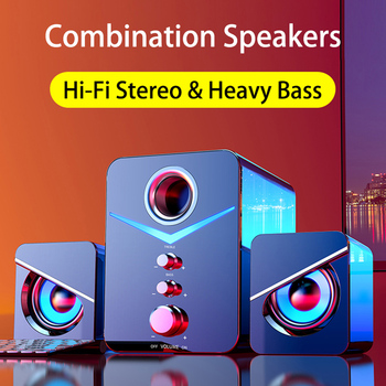 Home Theater System Caixa De Som PC Bass Subwoofer Bluetooth Speaker Computer Speakers Music Boombox Desktop Laptop Altavoces TV