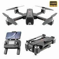 B4W 5G WIFI Drone avec caméra RC quadrirotor optique flux positionnement vol stationnaire pliable RC hélicoptères 1600m à distance GPS Drone caméra