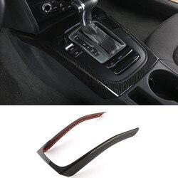 Center Konsole Getriebe Shift Rahmen Dekoration Abdeckung Trim Für Audi A4 B8 2009-2016 A5 ABS Auto Styling Innen geändert