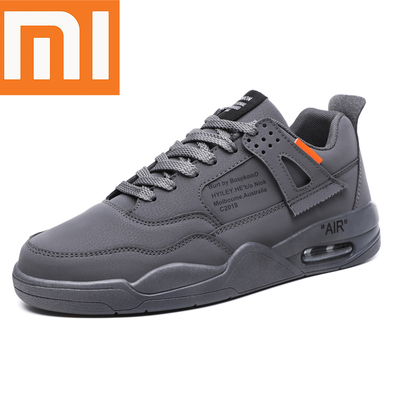 Xiaomi Fashion Mens Running Shoes Light Breathable Comfortable Casual Non-slip Wear-resisting Height Increasing Man Sneakers