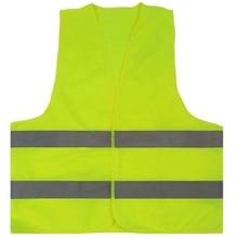 10 шт. зеленый светоотражающий жилет высокой видимости с Hi Vis Серебристая полоска для мужчин и женщин работа Строительство Велоспорт Бег Cro