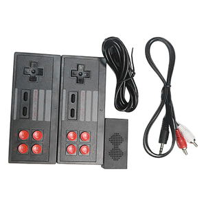 Mini Video Game Console Built in 620 Game Box Dual Gamepad Controller TV Home Game Console for NES Kid's Gift