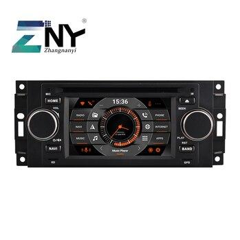 "5"" Android 10 Car GPS Stereo For Chrysler 300C PT Cruiser Jeep Grand Cherokee Patriot Compass Dodge Ram Dakota DSP Audio Video"