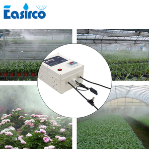 Image 2 - Mist cooling system with humidity controller 20pcs nozzle. Humidifier for Greenhouse & reptile Humidifier.