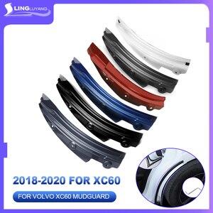 Image 2 - for volvo xc60 rear wheel fender 2018 2019 XC60 special rear door rear wheel fender modification car accessories mudguard 2020