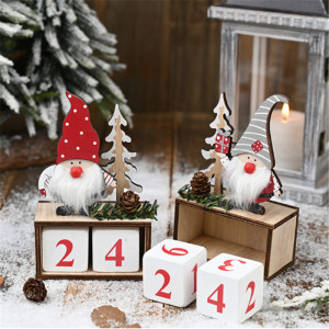 Christmas Calendar Merry Christmas Decorations for Home Noel Xmas 2020 New Year Gifts Santa Claus Dolls Elf Deco Christmas Noel