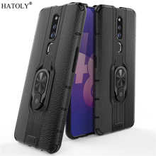 For OPPO F11 Pro Case For OPPO F11 Pro Protective Case Finger Ring PC Armor Shell Funda Hard Back Phone Case For OPPO F11 Pro швабра topoto f11