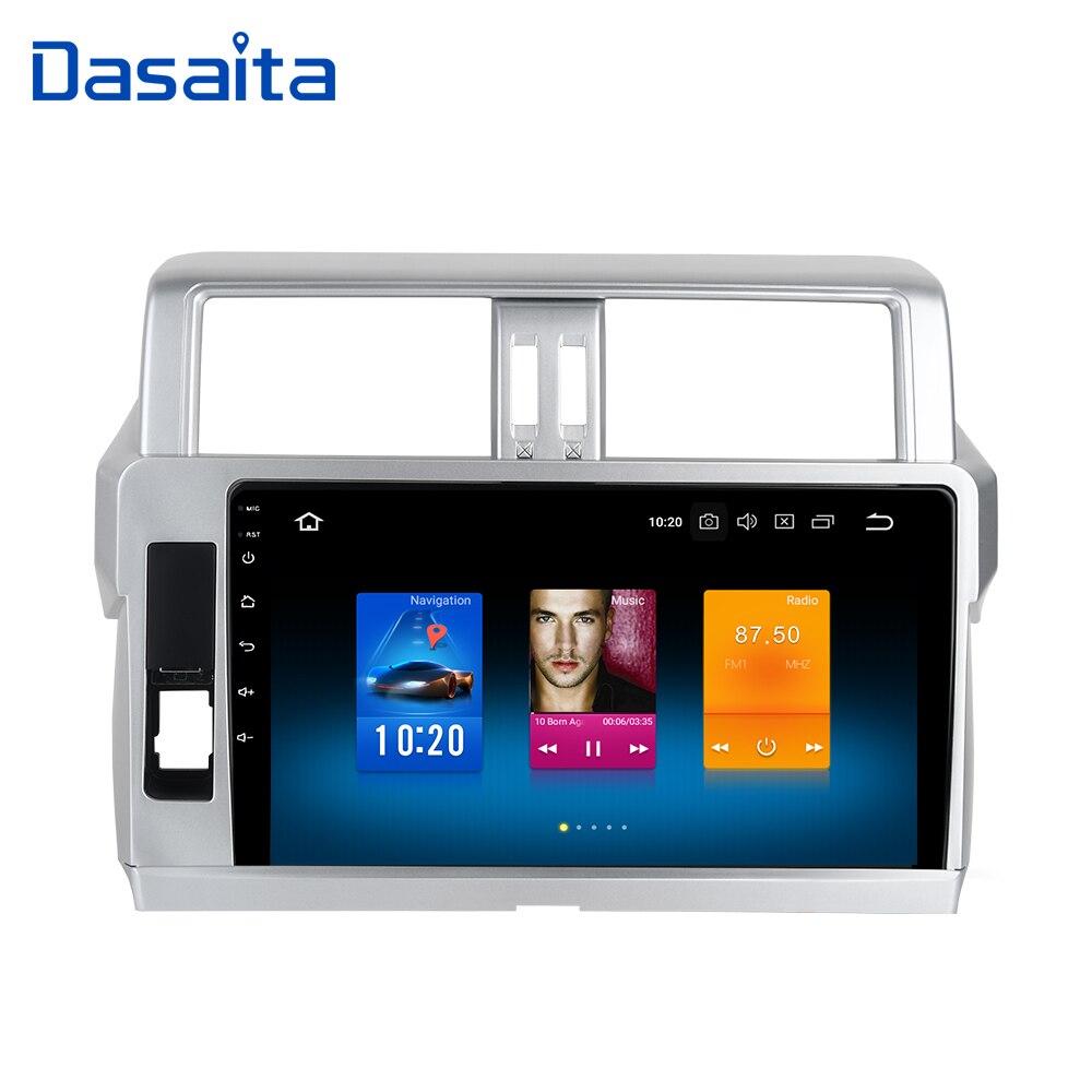 Car 2din android GPS for Toyota Prado 150 2014 autoradio navigation head unit multimedia 4Gb 32Gb