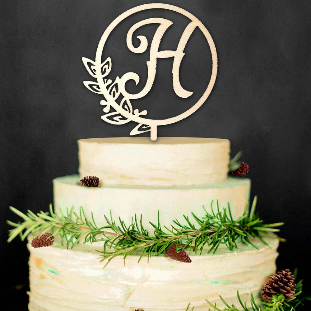 Dekoracje ślubne drewniane ciasto Decor 25 sztuk DIY brelok do kluczy Artware ściany wiszące podpisane witamy wiszące Ornament z konopnej liny