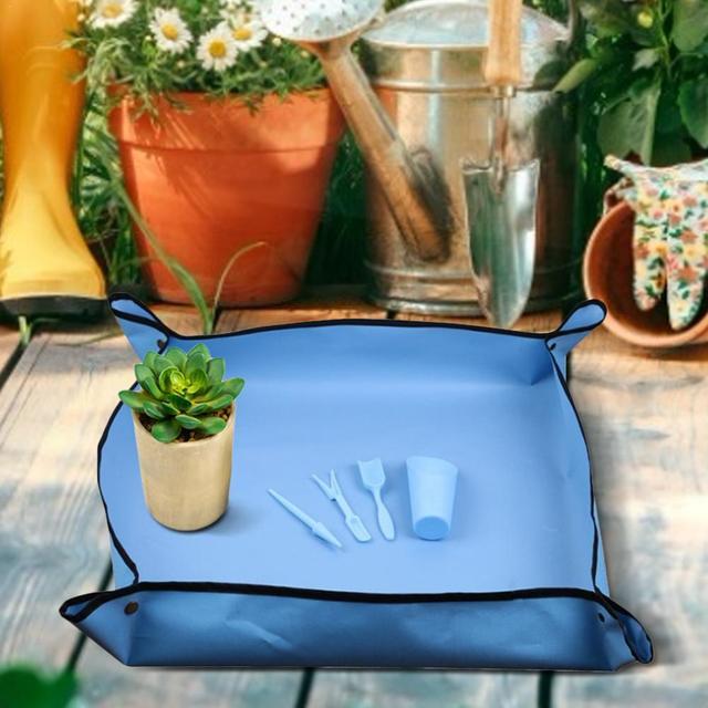 Gardening Waterproof Folding Dust Proof Mat 3