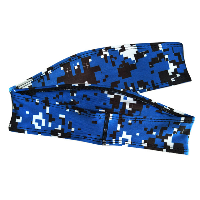 Sports outdoor headband running headband hairband headband sweat guide multifunctional sports antiperspirant belt 4