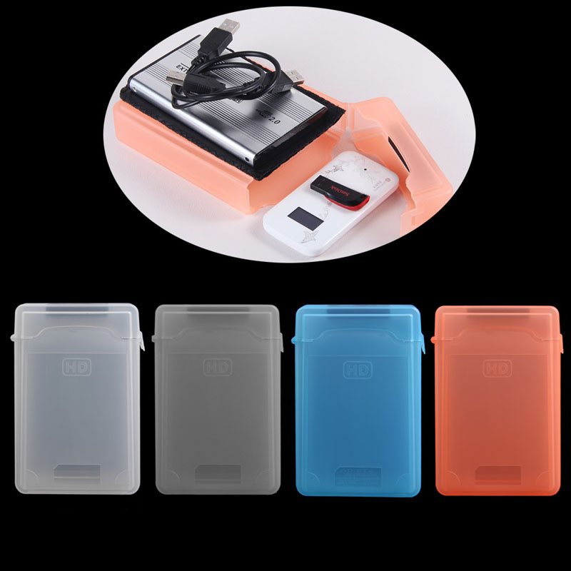 Plastic SATA HDD IDE Hard drive Storage Enclosure Box Case 3.5 inch