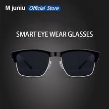 K2 bluetooth 5.0 óculos de sol ao ar livre inteligente bluetooth sem fio esporte fone de ouvido com microfone anti azul óculos de sol