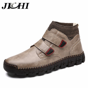 JICHI Leather Men's Shoes Fash