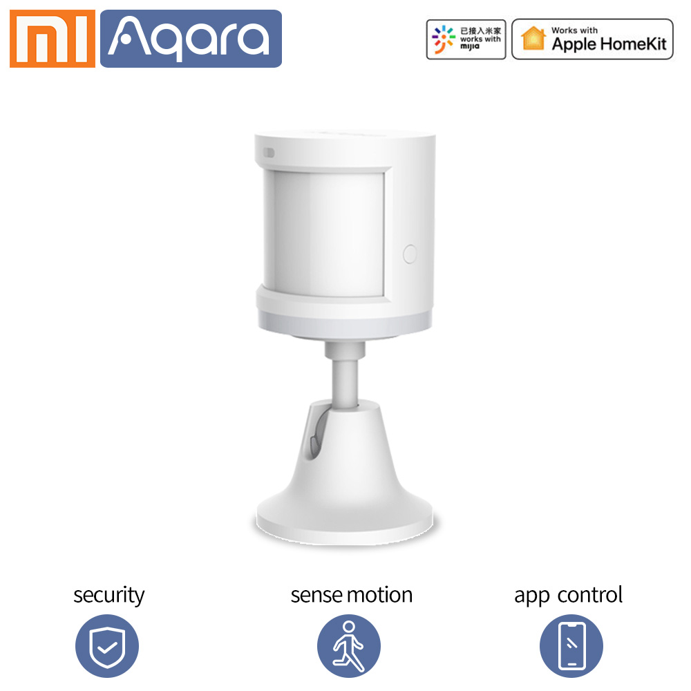 Датчик движения Aqara, датчик человеческого тела, датчик движения тела, PIR датчик, Zigbee, wifi, приложение Smart life, для Xiaomi, умный дом, датчик
