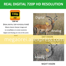 Megaorei2 850nm Infrared Laser IR Night Vision Device Monocular Scope Sight Cameras Video Recorder Outdoor Night Hunting Device