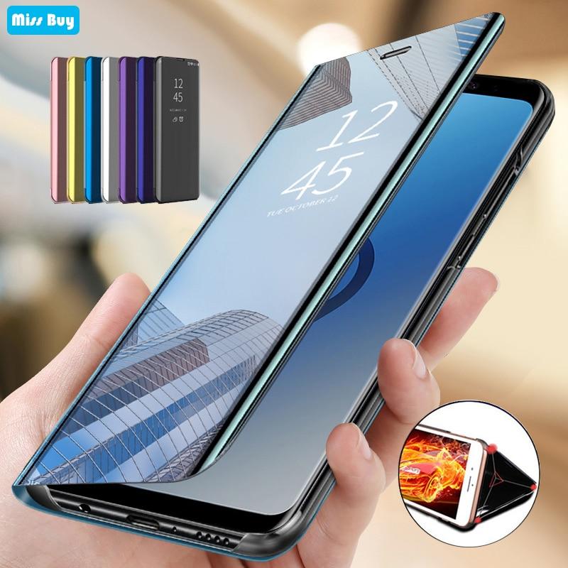AKC Funda Compatible para Samsung Galaxy A70 Carcasa con Flip Case Cover Suave PU Cuero Cierre Magn/ético Plegable Carter Soporte Prueba de Golpes Caso Anti-rasgu/ños con Tapa Tarjetas-Marr/ón
