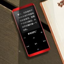 Ruizu D02 บลูทูธ MP3 Player Built in ลำโพง e book วิทยุ MINI Walkman