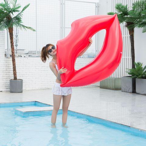 linha cama flutuante engrossado pvc natacao anel