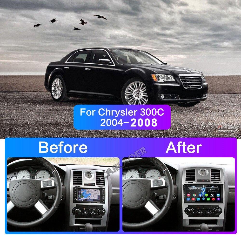 Image 3 - 2 din Car Radio 2Din Android Autoradio Multimedia Player Auto audio for Chrysler Aspen 300C 2004 2005 2006 2007 2008 GPS wifi 4gCar Multimedia Player   -