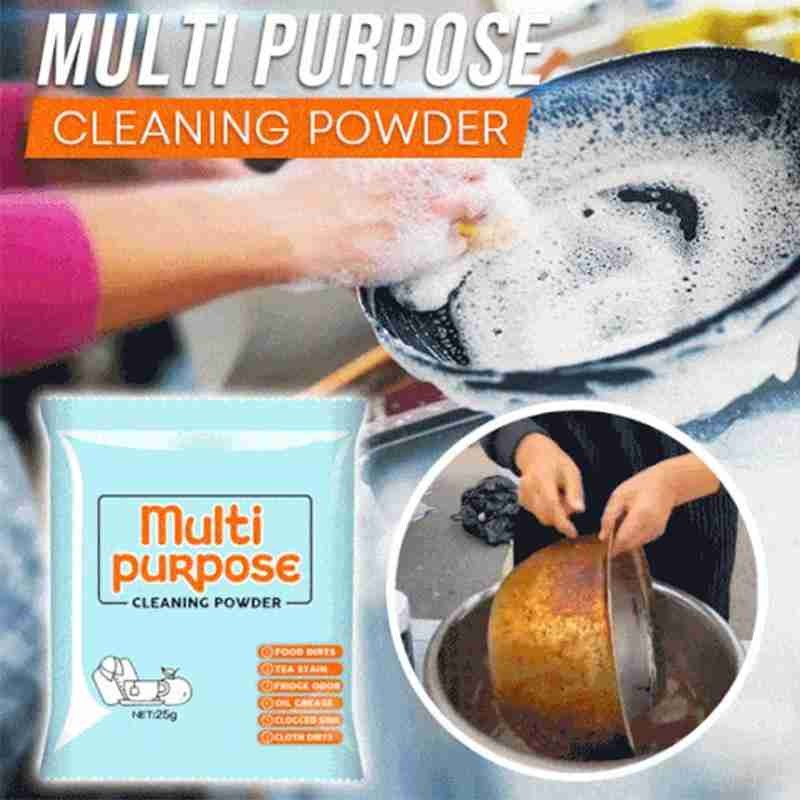 25g Soda Powders Cleaning Multi Purpose Effectively Kitchen Grease Cleaner Powder Decontamination Baking Soda Powders Cleaning