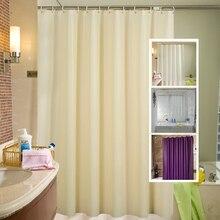 Bathroom Curtain Toilet PEVA Home-Decor Waterproof Solid with Hook Environmental D25