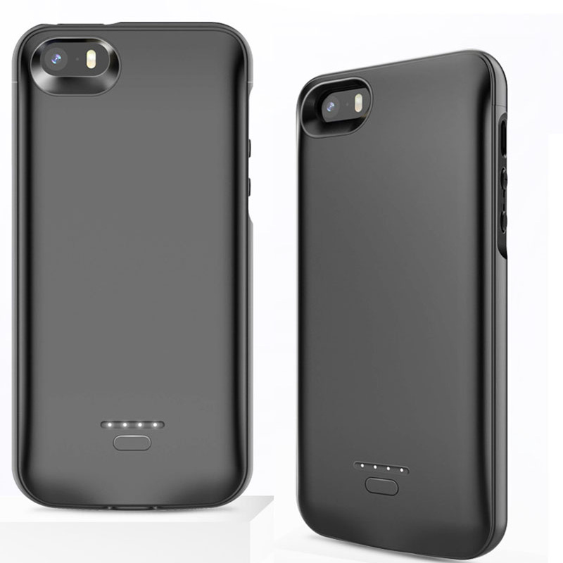 4000mah <font><b>Battery</b></font> Charger <font><b>Case</b></font> For <font><b>iPhone</b></font> <font><b>5</b></font> 5s SE <font><b>Battery</b></font> <font><b>Case</b></font> Portable External <font><b>Battery</b></font> Charger for <font><b>iPhone</b></font> SE <font><b>5</b></font> 5S Power <font><b>Case</b></font> image