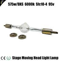 HMI 575 SFc10 4 무대 이동 헤드 스캔 라이트 메탈 할라이드 램프 hmi575 575/HSR 575 더블 엔드 교체