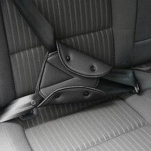 Cinto de segurança resistente para assento, cinta de segurança ajustável, triângulo, proteção para bebês, estilizador para carros produtos de bens
