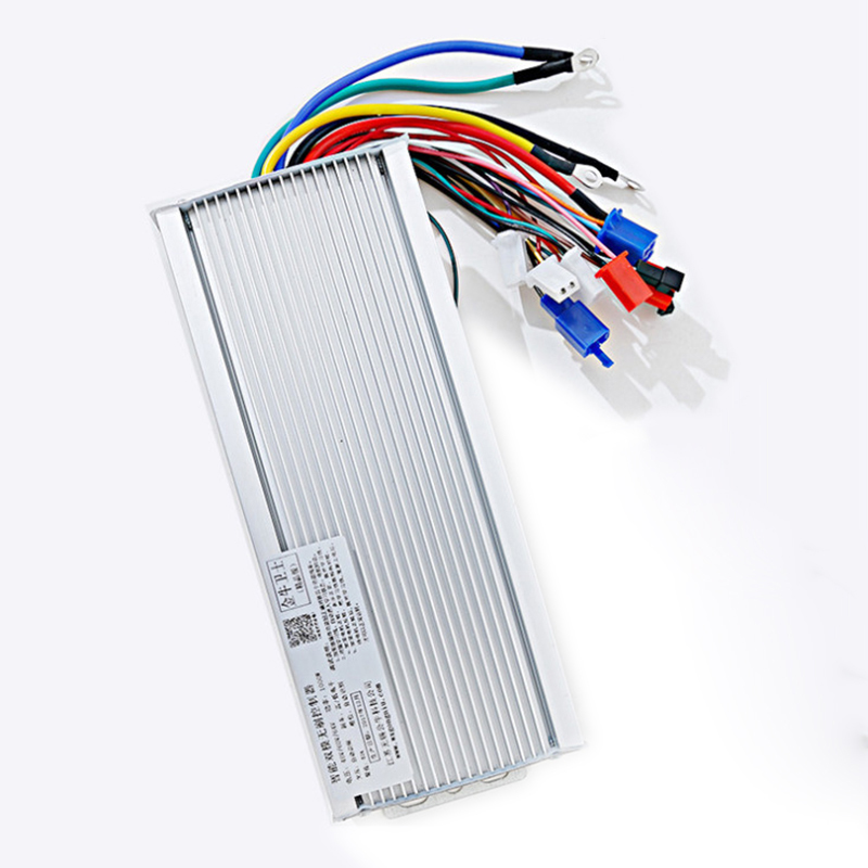 48V 60V 1500-2000W BLDCM Controller DC Battery Electric Motor Brushless Controller Power Supply 18 MOS Tubes