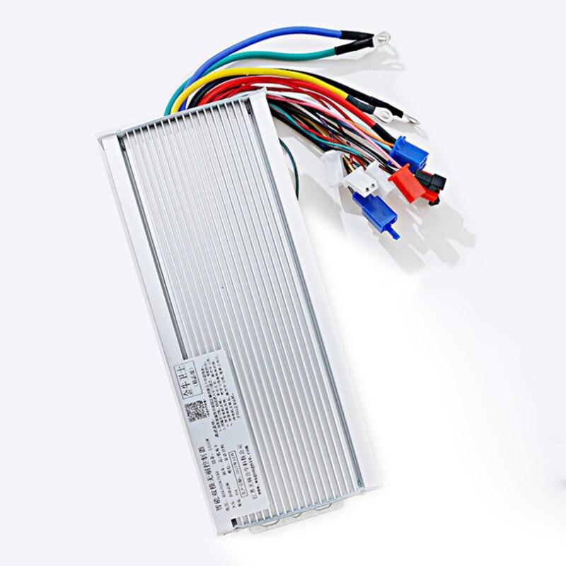 48V 60V 1500-2000W BLDCM kontroler DC akumulator elektryczny silnik bezszczotkowy kontroler zasilanie 18 rur MOS