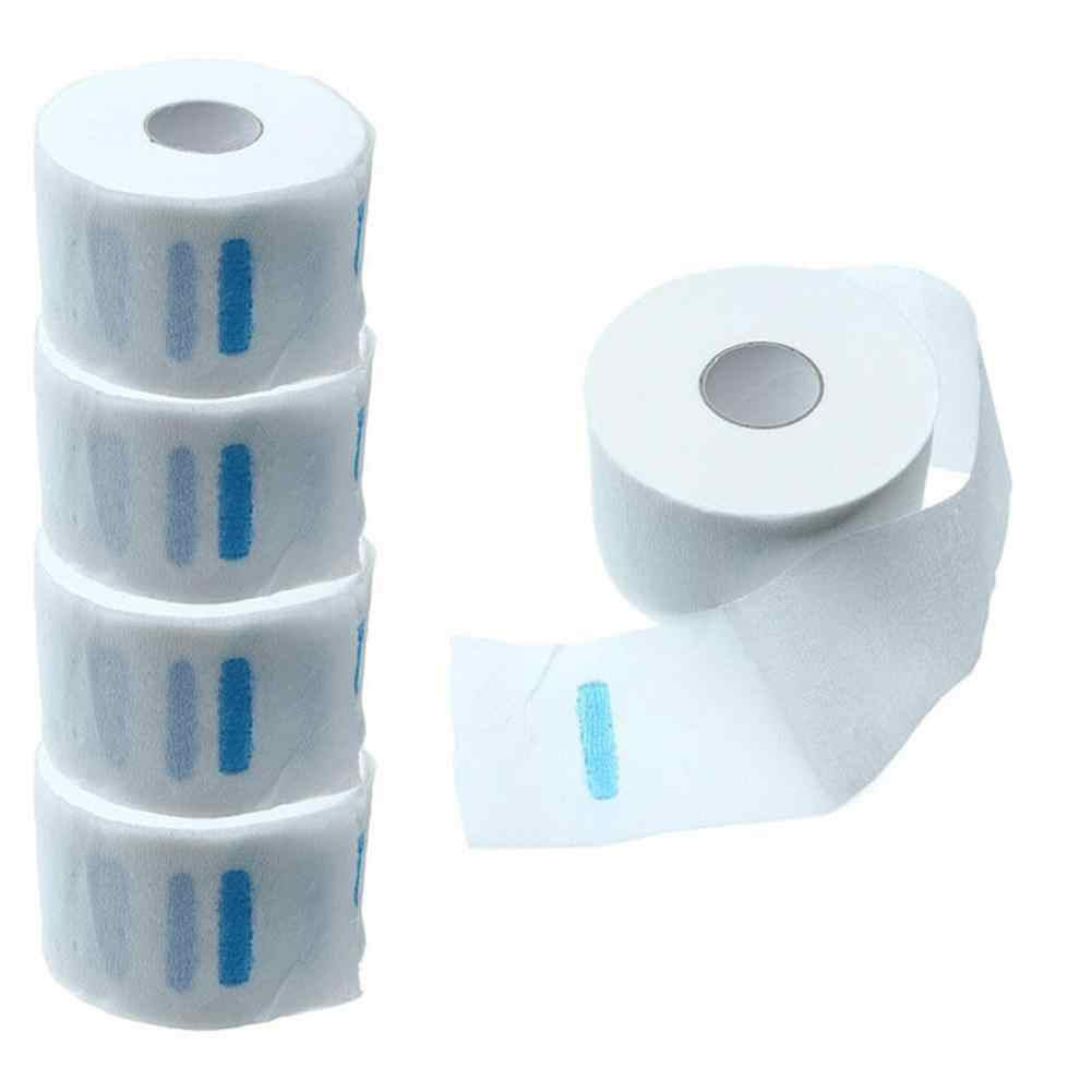 1 Roll Pro Stretchy Disposable Neck Paper Strip for Barber Salon Hairdressing