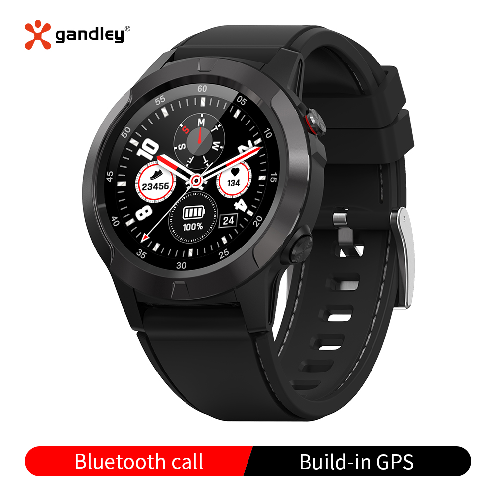 M4 IOS Android Smart Watch Gps Compass Barometer Atmospheric Pressure Music Control Bluetooth Call Waterproof Smartwatch