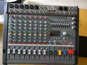 Image 2 - Novo PM600 3 powermate 600 3/powermate 600 mk3 power mixer com capa 6 canal profissional mixer console