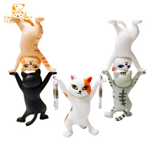 Dance Cat Action Figures Toys Cute Mini Kitten Cartoon Animals Model Dolls Funny Cool Decoration Figurines Collectible Kid Gifts