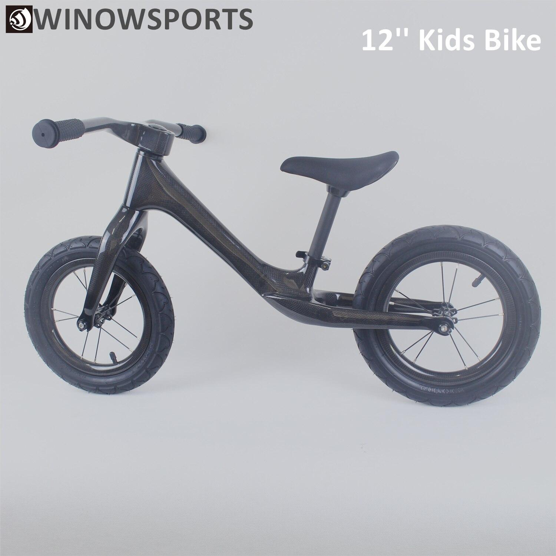 Winowsports Super Light Weight 12 Inch Kids Balance Bike Push Bike 12