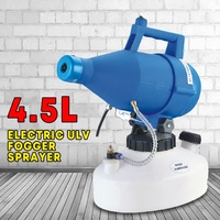 220V 4.5L Electric ULV Fogger Sprayer Mosquito Killer Farm Office Industrial Watering Irrigation Sprayers Home Garden Supplies