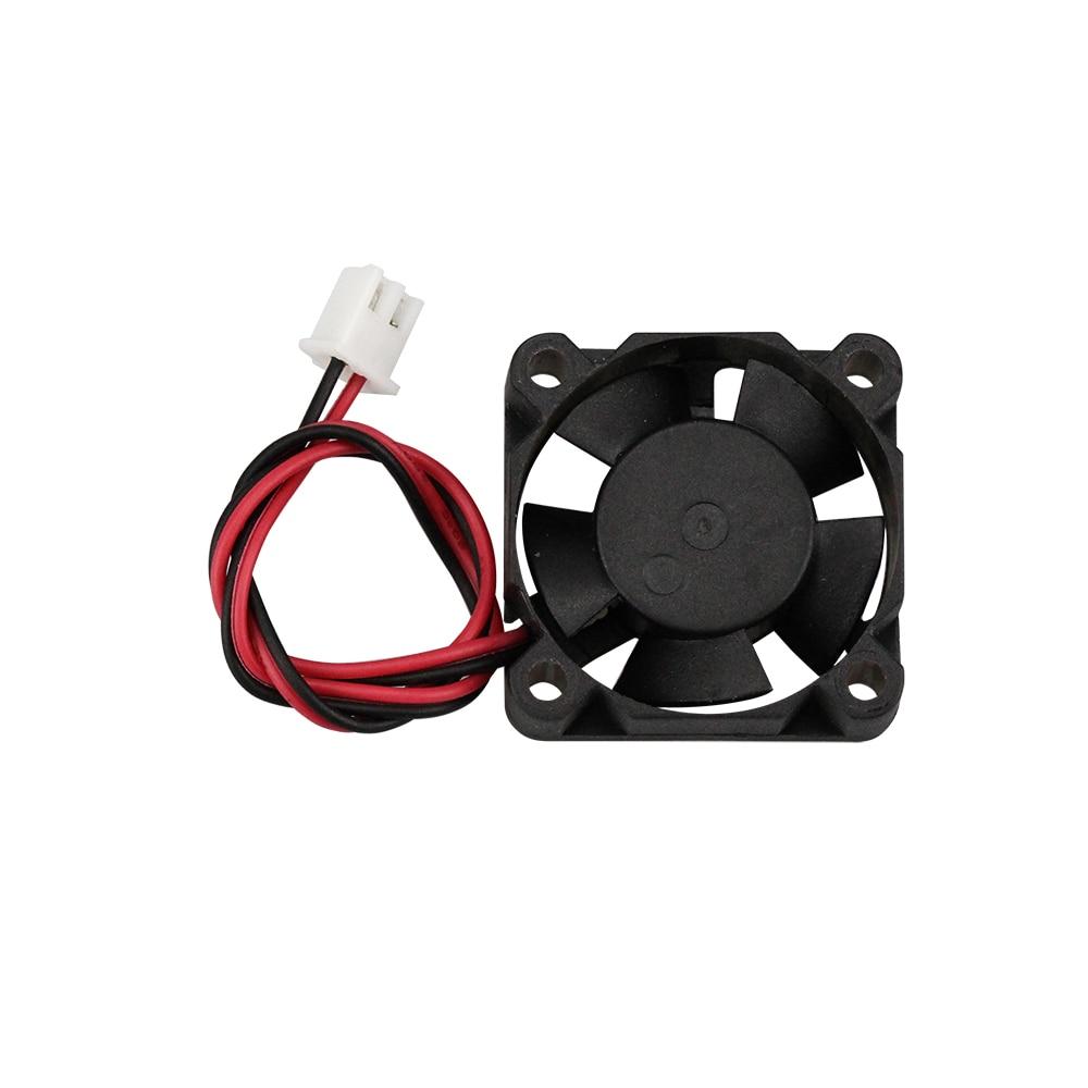 Детали для 3D-принтера, вентилятор охлаждения с гидравлическим подшипником 3010 12 в 30x30x10 мм с 2pin-ph 2,0, Бесщеточный вентилятор охлаждения 5 лезви...