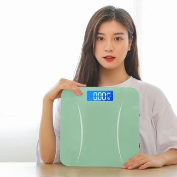 Waga ciała waga ciała waga łazienkowa waga ciała waga ciała waga cyfrowa Lcd inteligentne wagi elektroniczne tanie i dobre opinie CN (pochodzenie) Czteropunktowe Wagi domowe Szkło hartowane Plac DIGITAL Other Pomiar wagi Stałe Digital Body Weight Scale