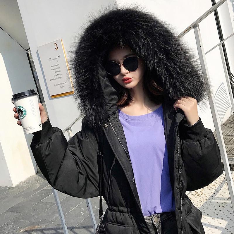 Зимняя женская куртка на утином пуху + Толстая теплая Женская пуховая из