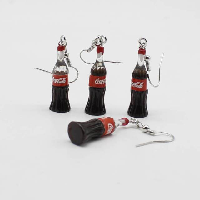 CocaCola Earrings